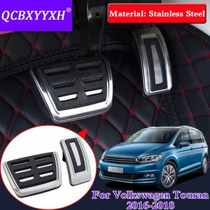 QCBXYYXH Car styling Car Accelerator Pedals For VW Touran 2016-2018 Internal Gas Pedals AT&MT Decoration Cover Accessories tjCs#