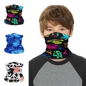 Máscaras los niños el uso de mascarillas Kid Deportes Ciclismo cuello de la cara de la polaina Boca Máscara Pañuelos bufanda mágica niños Mascarilla Panda 6 B2 7zh