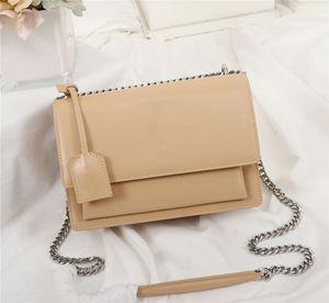 ultimo sacchetto di donne colore della spalla stuzzicadenti borsa catena in pelle modello classico delle donne di corpo Croce dimensioni borsa 22 centimetri 442.906