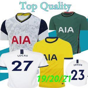 S-XXL 20 21 KANE SON BERGWIJN NDOMBELE لكرة القدم الفانيلة 2019 2020 2021 LUCAS SPURS DELE TOTTENHAM جيرسي لكرة القدم عدة رجال قميص