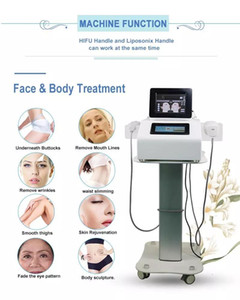 2020New Hifu machine Liposonic weight loss beauty machine skin tightening facial lifting skin care tools liposonix fat removal device 3D