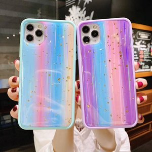 Colorful Aurora Borealis Case For LG K31 Slim Fit Protective Phone Cover PC TPU