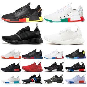 Adidas nmd R1 мужчины кроссовки разводят Японию тройной белый черный ог крем Oreo камуфляж мужские кроссовки женские спортивные кроссовки размер 36-45