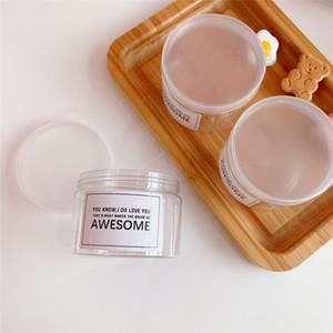 Minit Цветок Tin Box DIY свечи Jar Круглый Пустые пластиковые коробки Портативный Jewerly крем для хранения Box yq02092