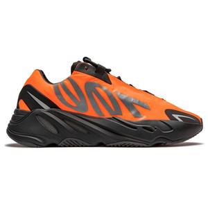 Kanye West 700 MNVN En Kaliteli Koşu Ayakkabıları Kemik Turuncu Fosfor Üçlü Siyah Yansıtıcı ile Satılık Kutusu Sneakers Mağaza Toptan Fiyatları
