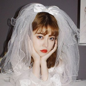 Escuro nupcial menina Véus Multi-camada Fluffy nupcial da borboleta Veil Simples Retro Véu do casamento para o casamento partido Grandes Eventos