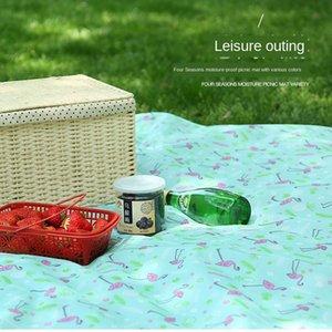 X5Kbd Открытого пикник ткани Оксфорд подушка Meal ткань Оксфорд кемпинг влагостойкого лето пляж MAT детское восхождение мат открытого небольшого куб