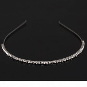 K Fashion Women &#039 ;S Hot New Silver Crystal Rhinestone Hair Band Headband Hair Wear Accessories Free Shipping H029