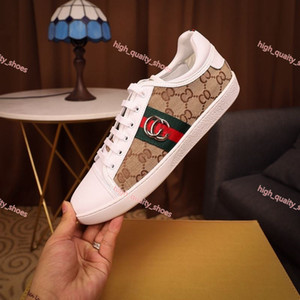 Xshfbcl 2020 fashion luxe lacing Mens Casual Shoes New Arrival Casaul Leather Sneakers Fashion Patchwork Plaid Flat Shoes
