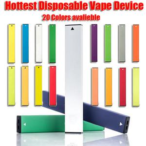 Hottest dispositivo monouso Vape Pen Po DCon Sicurezza Codice Sticker 5% Freccia 280mAh Battery Capacity 1.3ml Vape Cartuccia pacchetto Custome LOGO