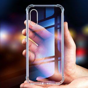 Transpare Phone Case for iPhone 11 Pro 7 8 Plus XS XR MAX X 6 6S Plus 0.3MM Crystal Gel Case Ultra-Thin Soft TPU Clear Cases