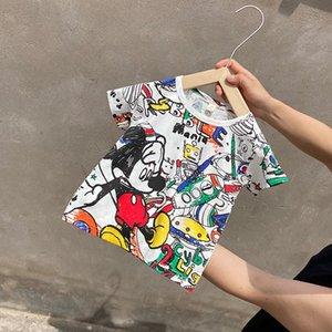 sB9Il 2020 neue Kinder personalisierte T-Shirt Kurz d Lycra Baumwolle Kurz d Jacke Rundhals T-Shirt Hülse Cliphülse Clip schlank und Hände
