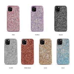 Adatto per iphone 11Pro polvere rhinestone max cristallo di scintillio che placca cassa del telefono mobile