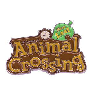 Animal Crossing New Leaf Brooch Popular Video Game Jewelry