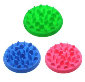 New Home Pet Dog Feeding Food Dish Bowl Silicone Puppy Slow Down Eating Feeder Dish For Dogs Supplies