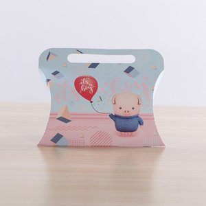 Handbag Type Wedding Favor Boxes Baby Shower Boxes Cardboard Paper Bags For Candy Chocolate Box