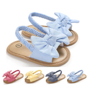 INS Summer bowknot baby shoes toddler shoes baby girl shoes baby sandals toddler sandals newborn sandals girls sandal B1747