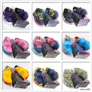 2020 quality New Kyrie 5 6 Pre-Heat Tokyo NYC Miami Men mens Basketball Shoes 5s 6s Sponge Pineapple Sports Sneakers Chaussures US 7-12