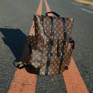 NEVERFULLLOUISVUITTONCHRISTOPHER men backpack handbag school bag Satchel shoulder bags Travel bag