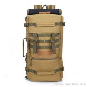 Viajes Mochila Morral 2018 bolso de lujo de calidad superior caliente 50L Nueva táctico militar mochila camping bolsos de montaña bolsa de los hombres de