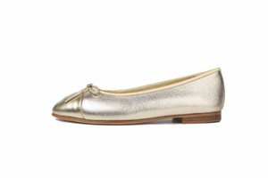 high quality shallow mouth round flat shoes women Genuine Leather bow ballet multicolor large EUR34-41 Women's Shoes