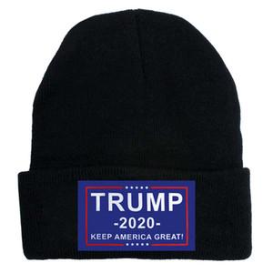 Trump Beanie Donald Trump 2020 Bütünleme Amerika Büyük Yine Örgü Şapka Kış Sıcak Kayak Parti Şapkası LJJO8216 Caps