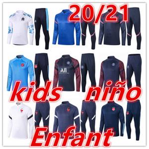 2020 2021 новых Ajax дети Tracksuit АЯКС Обучения детям футбольных комплектов 20 21 футбола спортивного костюма футбол костюм куртка костюмы беговых