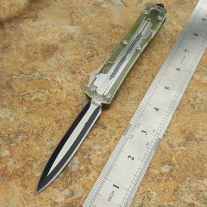 ut121 121 Прозрачный танто D / E лезвие двойного действия тактических самообороны складной нож EDC кемпинга нож охотничьи ножи Рождество