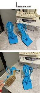siyah moda sandviç ayak ayakkabı yaz toka Yüksek topuklu sandaletler peri stilin bv yeni ince topuklu tek kelimelik