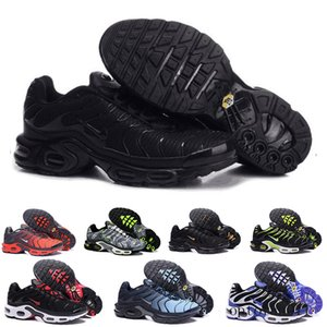 2019 Newest Men Zapatillas TN Designers Sneakers Chaussures Homme Men Basketball Shoes Mens Mercurial TN Running Shoes Eur40-46 TUJ9C