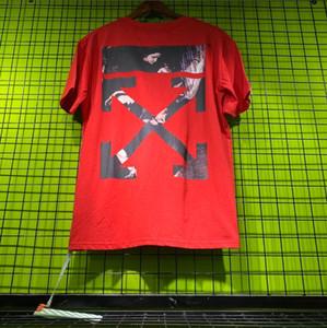 Vêtements d'été Hommes OFFWHITE T-shirts Lettres Mode Printed Tee cool manches courtes T-shirts ras du cou Homme Femme Blanc Noir Hauts 88sac