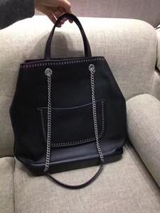New classic lady's handbag 7A high-end custom quality handbag single shoulder bag fashion trend business casual style silver metal accessori