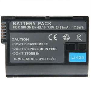 EN-EL15 Battery for NIKON D7000   D800   D600   V1