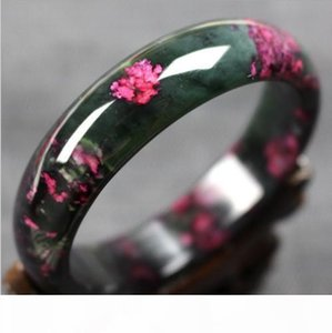 Beautiful Peach Blossom Hetian Jade Bangle 100% Natural Hand-Carved Bracelet<<<free shipping
