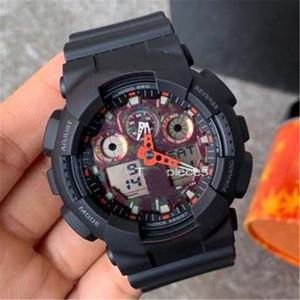 Mans Спортивные часы Оптовая G Стиль светодиодный цифровой Роскошный подарок для Man Shock каучуковый ремешок Горячие продажи 110 Часы Dorpship Limited Edition Watch