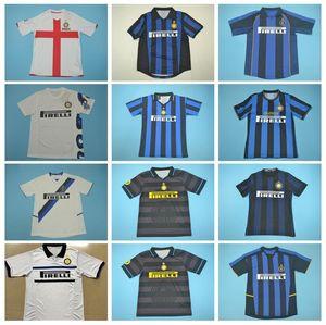 2008 2019 2011 Retro Inter Mailand Fussball Vinatge SNEIJDER Jersey RONALDO ZANETTI VIERI ZAMORANO IBRAHIMOVIC STANKOVIC Fußball-Hemd-Kits