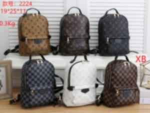 Mens diseñador de las mujeres Mochila doble de lujo bolsas de hombro Mochila Marca la capacidad grande al aire libre bolsos mochilas escolares Estudiante 2020885K
