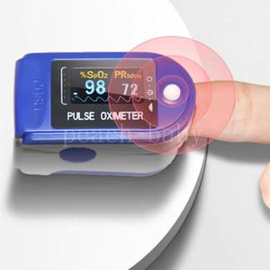 Fingertip Pulsoximeter Monitor SPO2 Blutsauerstoffsättigung Pulsfrequenz Herzfrequenz Perfusionsindex OLED-Display vor Ort schneller Versand