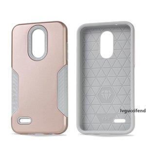 Armadura capa para LG stylo 4 telefone MetroPCS Q Stylus fibra para LG Stylo 4 Plus Stylus 4 de Carbono Tampa opp sacos C