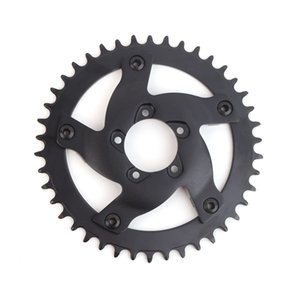 E-bike Bafang 8FUN 48V 1000W BBSHD BBS03B 42T 44T 46T Chain Wheel Adapter Black Electric Bicycle Conversion Chainwheel