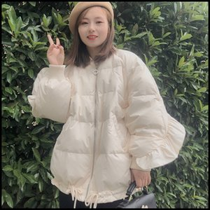 Anti-season special winter New loose flounder bread suit Warm down jacket thickened warm short small down jacket female