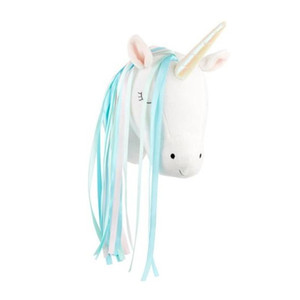 Cute 3D Animals Unicorn Head Wall Hanging Mount Kids Room Home Kindergarten Decor Artwork Wall Dolls Photo Props Nordic Style T200703