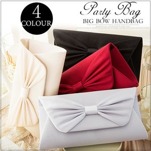 cuiying cuiying Japanese cocktail party women's hand Cocktail big bow envelope shoulder bag women's shoulder bag
