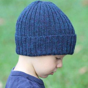 Hiver chaud de vente en Europe et en Amérique Light Board Laine enfants fil Bonnet bébé Pull chaud Hat
