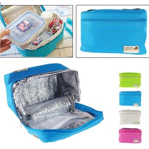 Travel Camping Waterproof Nylon Lunch Bag Picnic Cooling Storage Portable Insulated Box