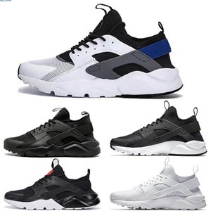 2020 new Cheap Huarache 1 4 IV Classical all White And Black Huaraches Shoes Men Women Sneakers Running Shoes Size 36-45 online se