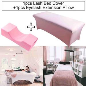 Collo Lash Pillow Eyelash Extension Destensili da letto Lettini innestati ciglia ciglia Estensione Memory Memory Foam Beauty Salon Strumenti di trucco