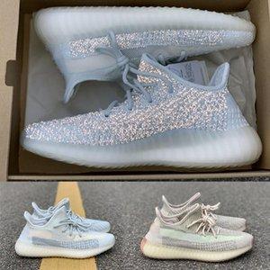 룬드 마크 반사 카니 예 웨스트 (Kanye West) 여성, S 신발 기드 녹색 남성 '; S와 여성, S 디자이너 캐주얼 신발 V2