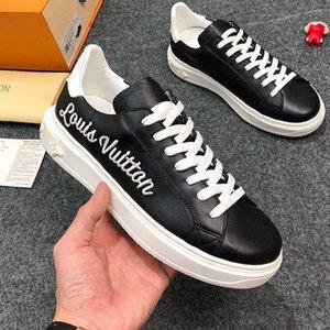 Herrenschuhe Fashion Luxury Breathable Männer Schuhe Time Out Sneaker Chaussures Gießen Hommes Hot Verkauf Luxuswohnungen Herrenschuhe Mode Type Leder