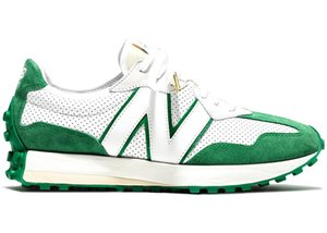Best New NB327 Casablanca Orange Men Pride MS327 Grey green White Blue Black Brown Sports Shoes With box free delivery Size 40-4